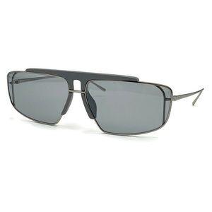 Prada 63mm Irregular Rectangle Sunglasses